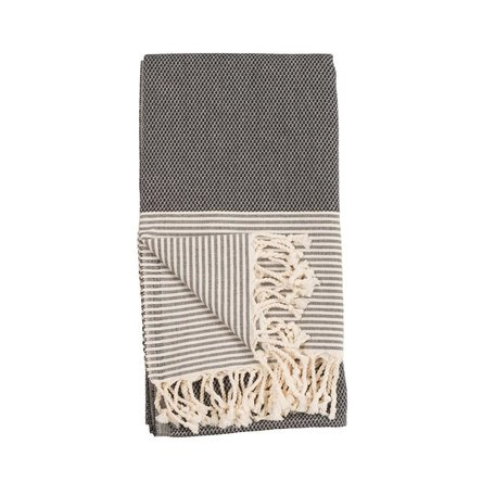 Patek Turkish Towel -Black