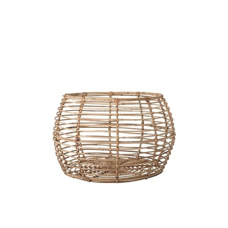 Rattan Basket/Table -Medium