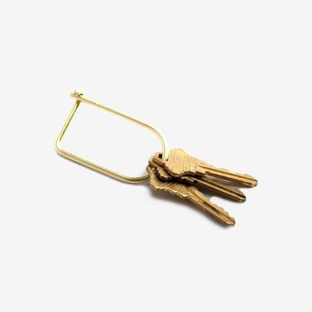 Wilson Keyring -Brass