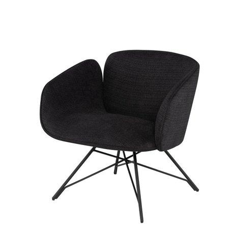 Doppio Occasional Chair -Black