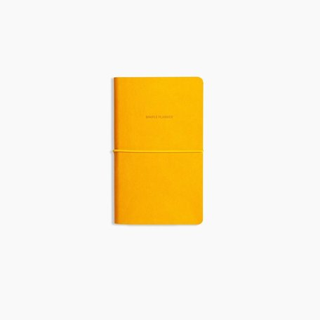 Simple Planner -Gold