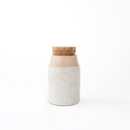 Dipped Speckled Mini Canister -Assorted Colours