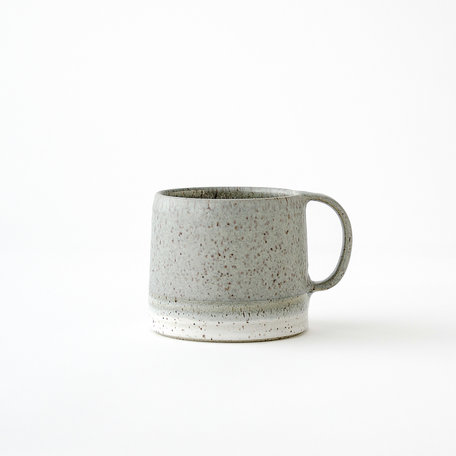 Dipped Speckled Short Mug -Assorted Colours