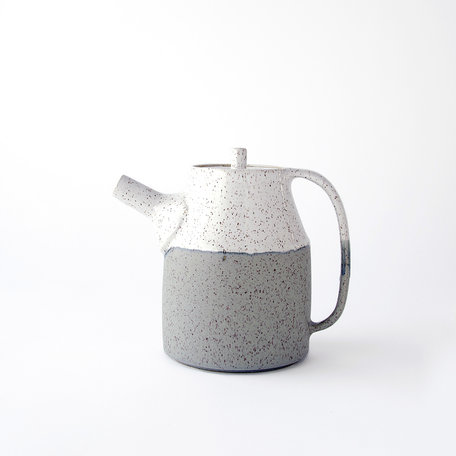 Dipped Speckled Teapot -Assorted Colours