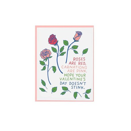 Red Roses Valentine's Day Card