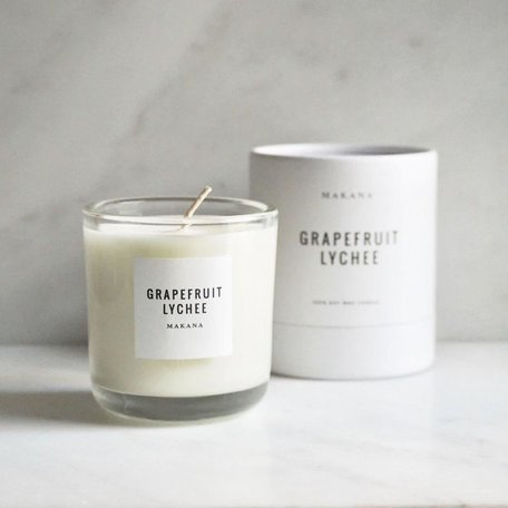 Grapefruit Lychee Soy Candle
