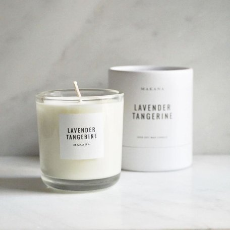 Lavender Tangerine Soy Candle
