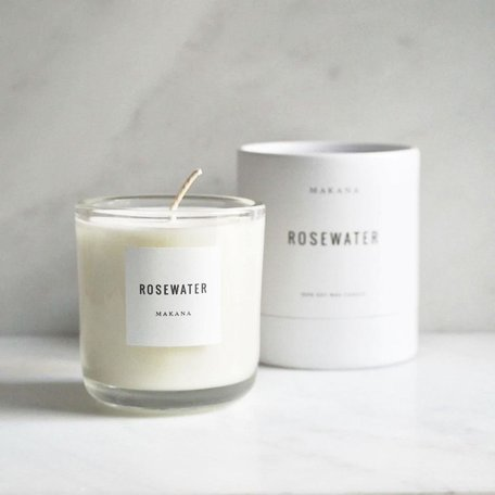Rosewater Soy Candle