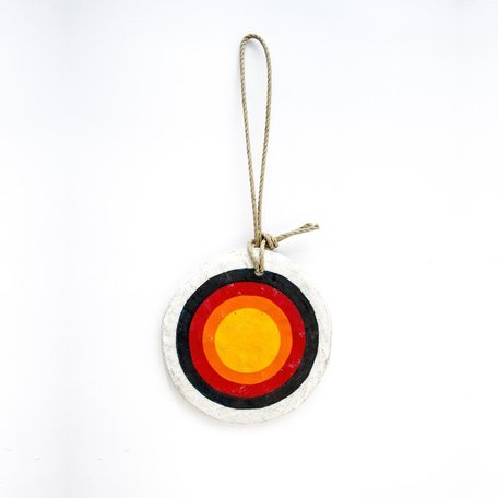 Bullseye Ornament -Large