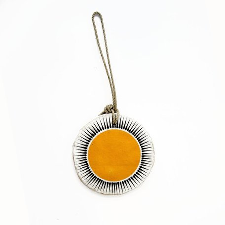 Marigold New Sun Ornament -Large