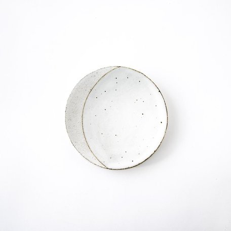 White Eclipse Dish -Small