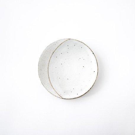White Eclipse Dish -Small