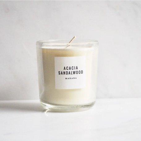 Acacia Sandalwood Soy Candle