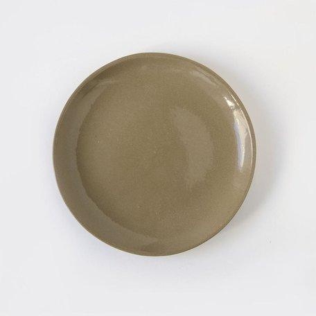 Dinner Plate -Oatmeal