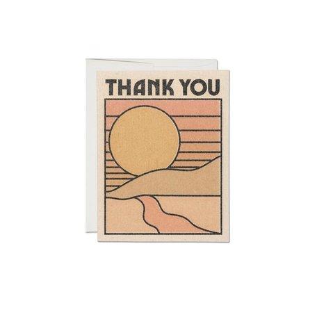 Thank You Sun Card