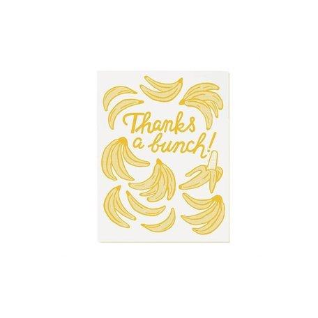 Banana Thanks Card