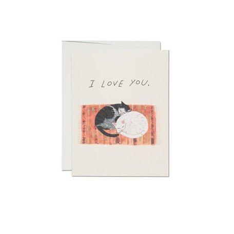Cat Cuddle Card