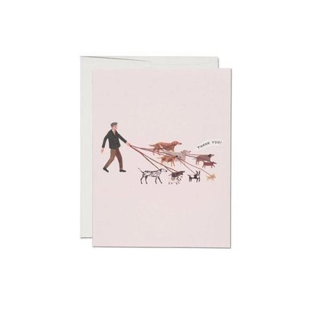Dog Walker Card