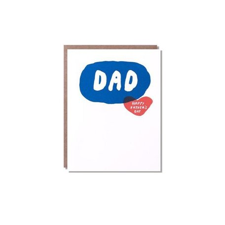 Bubble Father's Day Card