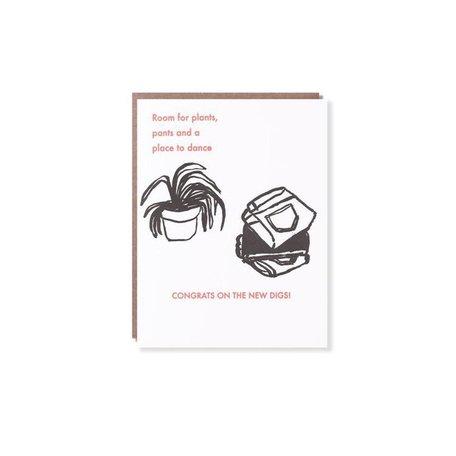 Pants & Plants Housewarming Card