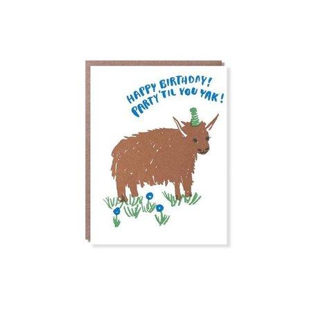 Birthday Yak Card