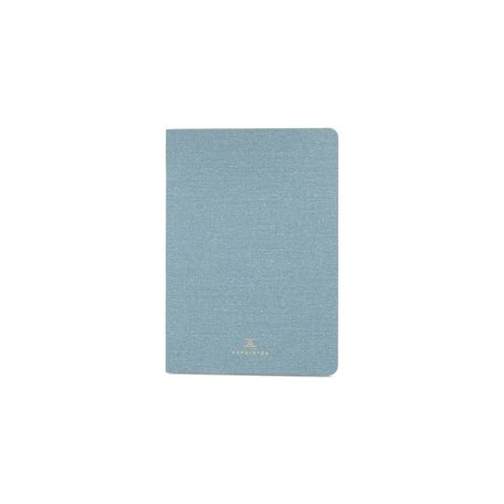 Grid Jotter -Chambray Blue