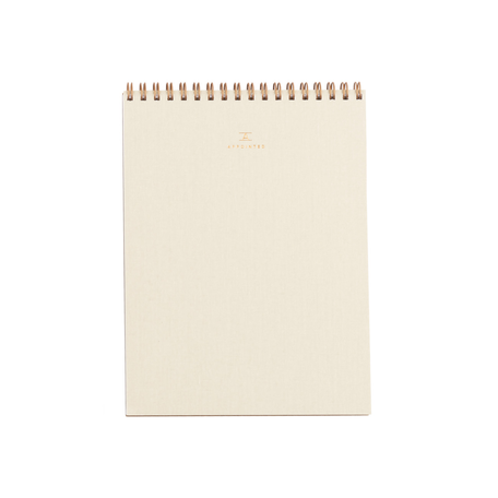 Office Notepad -Linen