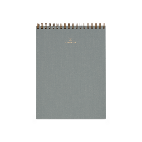 Office Notepad -Dove Grey