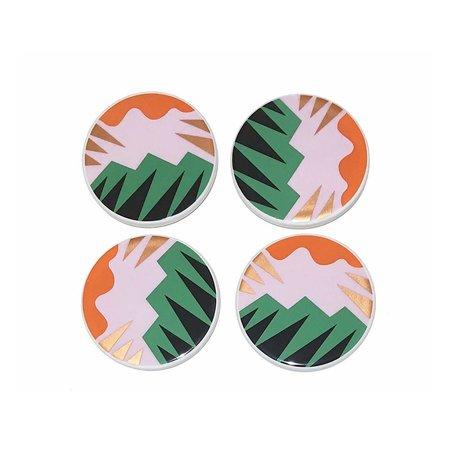 Fauve Coasters -Set/4