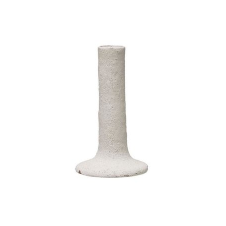 White Candle Holder -Tall