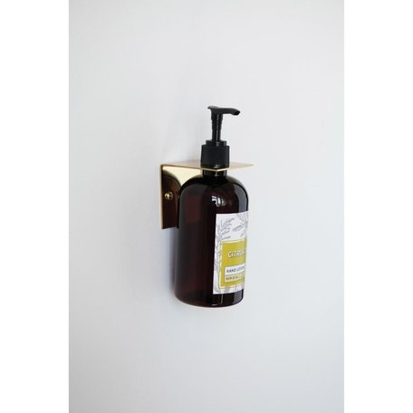 Brass Wall Hook/Bottle Holder