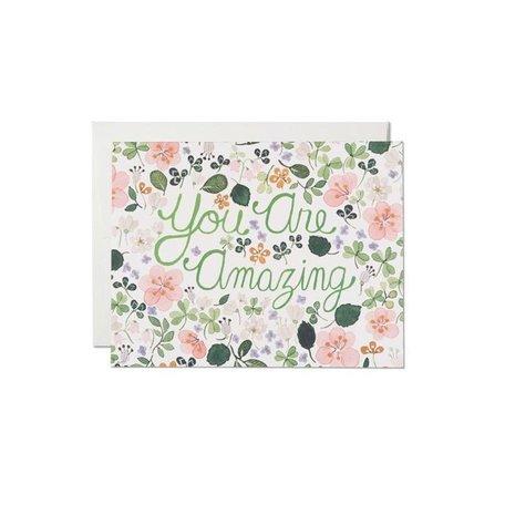 Pelargonia Amazing Card