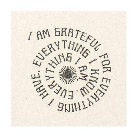 "Grateful Print -11x11"""