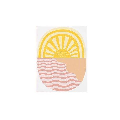 Sending Sunshine Birthday Card
