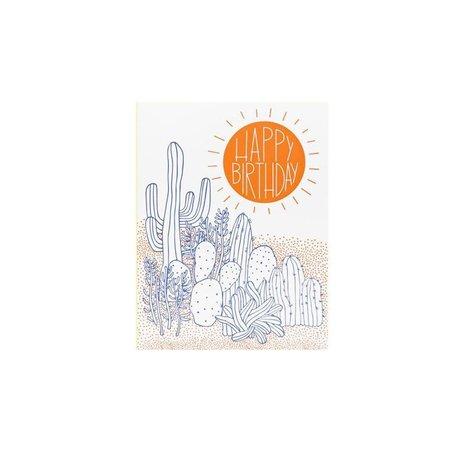 Desert Birthday Card