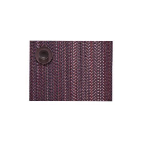 Quill Placemat -Mulberry