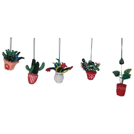 Felted Cactus Ornament -Assorted