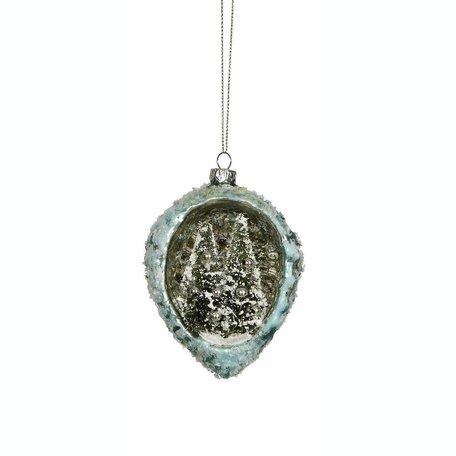 Glass Ornament w/ Multi Trees