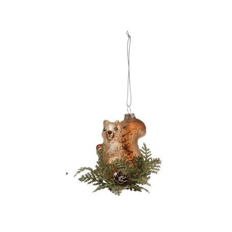 Woodland Animal Ornament -Squirrel