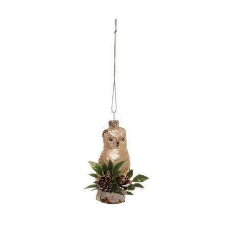 Woodland Animal Ornament -Owl