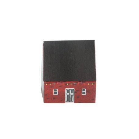 Holiday House Matchbox -Red