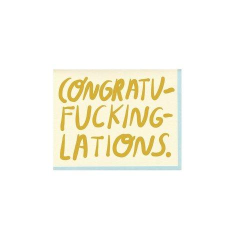 Congratu-fucking-lations Card