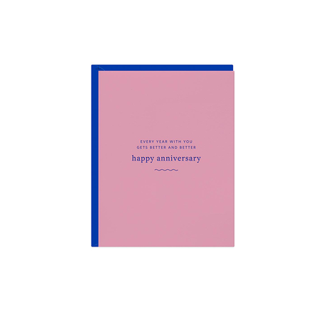 Happy Anniversary Cotton Candy Card