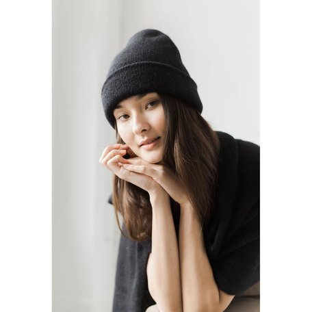 Andes Beanie -Classic Black