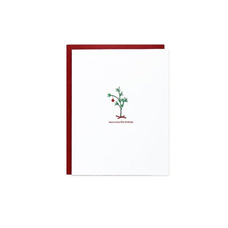 Merry Little Christmas Tree Card Box /6