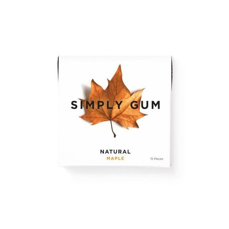 Maple Chewing Gum
