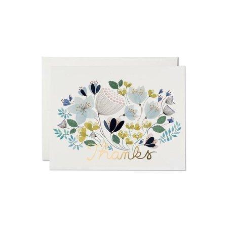 April Bouquet Thank You Card
