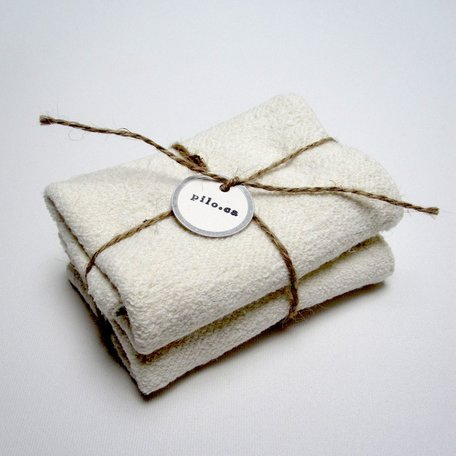 Hemp Wash Cloths Set/2