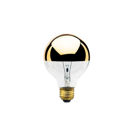 40W Half Gold Globe Bulb