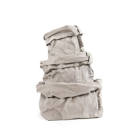 Paper Bag -Grey